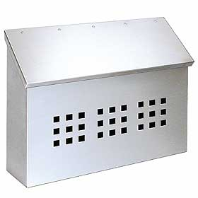 Salsbury industries 4515 Stainless Steel Mailbox-Decorative-Horizontal Style