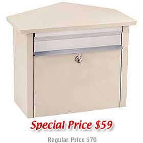 Salsbury industries 4750BGE Mail House-Beige