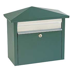Salsbury industries 4750GRN Mail House-Green
