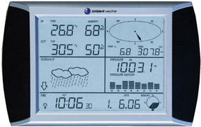 Ambient Weather WS-1090-C Wireless Home Weather Station (Console Only), 915 MHz