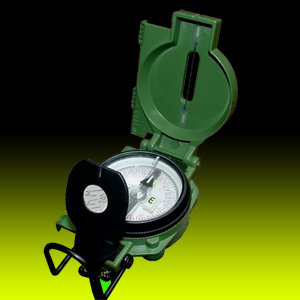 CAMMENGA  27 US Military Lensatic Compass - WITHOUT TRITIUM
