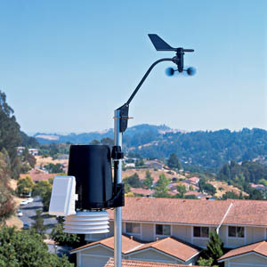 Davis Instruments 6162C Vantage Pro2 Plus Cabled Weather Station WeatherBug Backyard Package