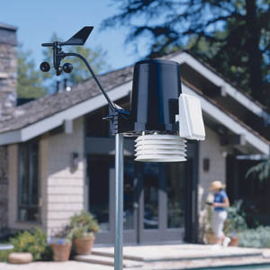 Davis Instruments 6152C Vantage Pro2 Cabled Weather Station WeatherBug Backyard Package