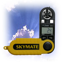 Speedtech by WeatherHawk 27020 SM-18 Skymate Wind Meter, Yellow