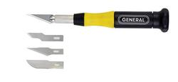 "General Tools 70615 15pc ""Cut-It"" Precision Knife Set"