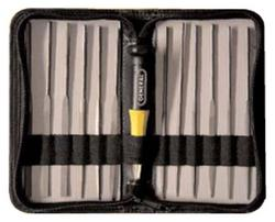 General Tools 707475 12pc Swiss Pattern Needle File Set