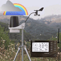 Davis Wireless 6152 Vantage Pro2 Weather Station with Standard Radiation Shield Weather Underground Package