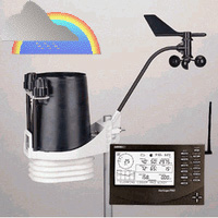 Davis Instruments 6162 Vantage Pro2 Plus Wireless Weather Station with Standard Radiation Shield Weather Underground Package