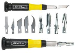 General Tools 75620 20pc Knife & Carving Set