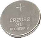 Ambient Weather CR2032 3 Volt Lithium Button Cell Battery - One Battery