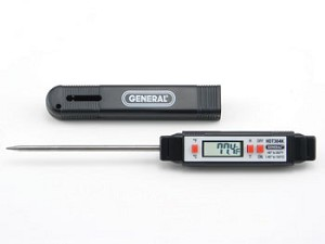 General Tools HDT304K Deluxe Digital Stem Thermometer