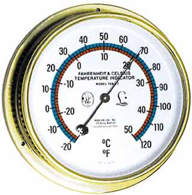 Abbeon TAB77 TAB-77 Certified Thermometer, Fahrenheit and Celsius w/ FREE UPS