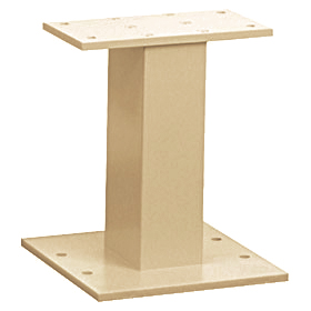 Salsbury industries 3385S Pedestal-GraySandstone-For Cluster Box Unit Type III and IV