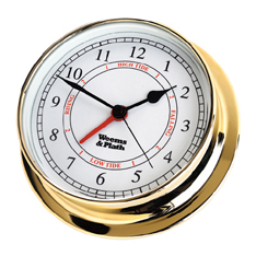 Weems and Plath 530300 Brass Endurance 125 Time & Tide Clock