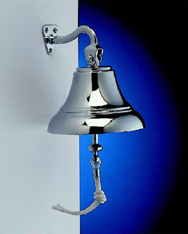 "Weems & Plath 6060N 6"" Chrome Bell (150mm)"