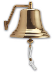 "Weems & Plath 2106 8"" (210mm) Brass Bell"