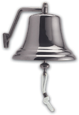 "Weems & Plath 2106AC 12"" (305mm) Chrome Bell"