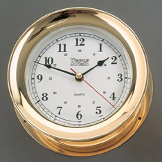 Weems and Plath 290500 Admiral Quartz Clock