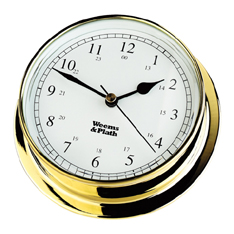 Weems and Plath 530500 Brass Endurance 125 Quartz Clock