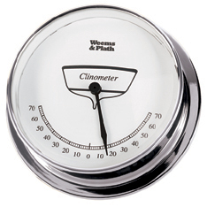 Weems & Plath 544000 Chrome Endurance 125 Clinometer