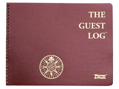 Weems & Plath 799 The Guest Log