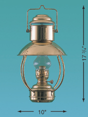 Weems & Plath 8201/E Trawler Lamp, Electric
