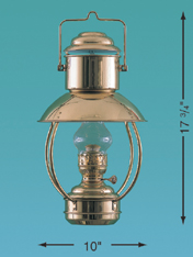Weems & Plath 8201/O Trawler Lamp, Oil