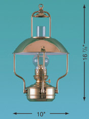 Weems & Plath 8207/O Clipper Lamp