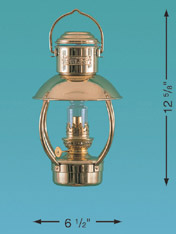 Weems & Plath 8211/O Mini Trawler Lamp