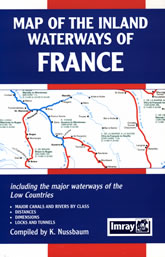 Weems & Plath 852885806 Map of the Inland Waterways of France