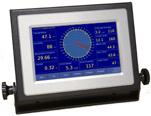 Columbia Weather 8173-A-1 Weather Display Console (Color), Serial Interface, Desktop