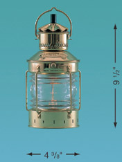 Weems & Plath 8611/O Anchor Light, 4