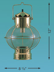 Weems & Plath 8703/O Globe Lamp, 7