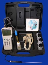 General Tools DPHO1380K Combination PH/ORP Conductivity Meter w/ RS232, Temp & PH Probes