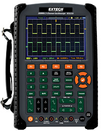 Extech Instruments MS6200 200MHz 2-Channel Digital Oscilloscope