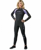 NeoSport Womens 3/2MM Wetsuit Purple/ Black
