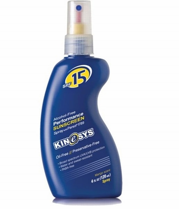 Kinesys SPF 15 Oil-Free Spray 4oz