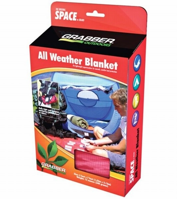 Grabber Outdoors All Weather Blanket Red