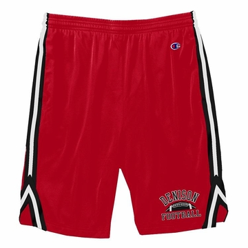 Denison Attack Short with Football Red