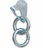 Fixe Double Ring Anchor Plated Steel