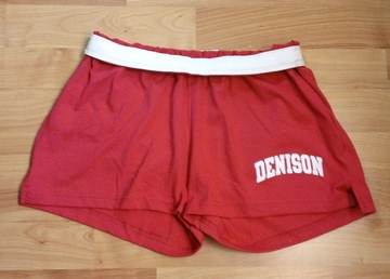 Denison Girls Cheer Short Scarlet