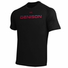 Denison Under Armour Cross Logo Black