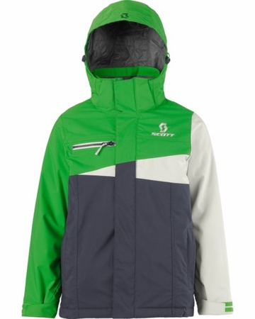 Scott Boys Flurry Jacket Grass/ Vapor