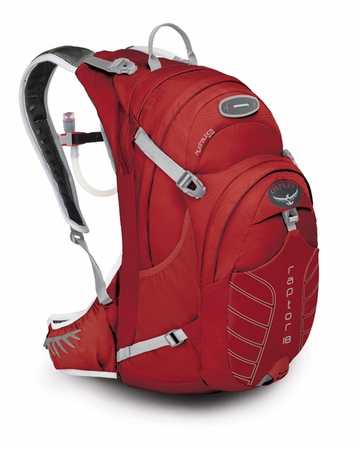 Osprey Raptor 18 Madcap Red (Close Out)