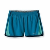 Patagonia Womens Strider Running Shorts Grecian Blue (Spring 2012)