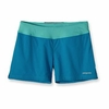 Patagonia Womens 50K Trail Shorts Grecian Blue (Spring 2012)