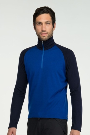 Icebreaker Mens BF260 Tech Top Cobalt/ Admiral (Autumn 2012)