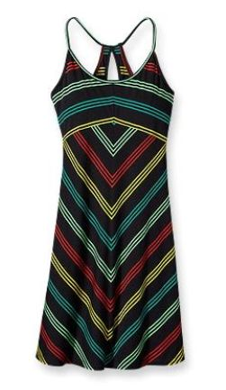 Patagonia Spright Dress Narrow Stripe: Black (Spring 2013)