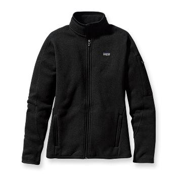 Patagonia Womens Better Sweater Jacket Black