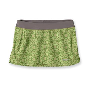 Patagonia Womens Nine Trails Skirt Moroccan Stars: Endive (Spring 2012)